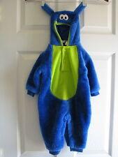 Monsters Inc. 0-6 months Halloween Costume fur type boys girlss faux drama