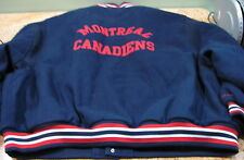 Mitchell & Ness Montreal Canadiens Hockey Jacket Size 64-5XL, USC#360