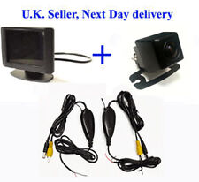 "Inalámbrico de estacionamiento de marcha atrás de 3,5 "") Monitor Mini CCD cámara"