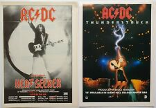 ACDC 2 x VINTAGE ORIGINAL ADVERTS HEAVY METAL POSTER FLYER CUTTINGS AC/DC #4