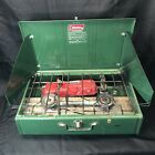 Coleman Model 413G  2 Burner Camp Stove 4/79 Vintage Made In USA