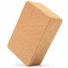 Organic Cork Yoga Block Eco-Friendly Yoga Prop Accessory Exercise Brick