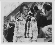 Photo originale argentique Steve Mc Queen Le Mans course automobile