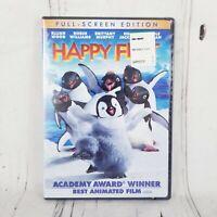 Happy Feet DVD 2007 Full Screen Robin Williams Elijah Wood Brittany Murphy