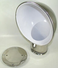 """Victory CH4360 Stainless Steel 4"""" Round Cowl Vent w/ Deck Plate 135-1048"""