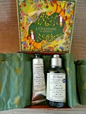 Loccitane Lavender Hand Cream 30ml & 75ml Essential Oils shower gel bio boxed