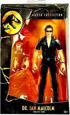 "Jurassic Park Amber Collection  Dr. Ian Malcolm  Figure 6""Jeff Goldblum figure"