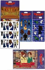 5 New packs Gibson Greetings ANASTASIA Stickers plus one Puzzle Greeting Card