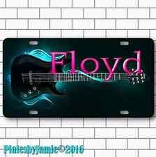 PINK FLOYD ROCK GUITAR  Metal Aluminum Vanity License Plate Tag New