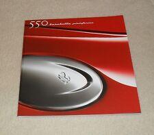 Ferrari 550 Barchetta Pininfarina Sales Brochure 2000