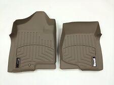 WeatherTech FloorLiner - Chevrolet Avalanche - 2007-2013 - 1st Row - Tan