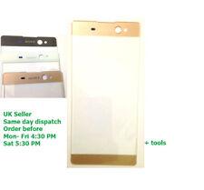 "Sony Xperia Xa Ultra C6 LCD Pantalla Táctil de Cristal Exterior Frontal F3211 F3212 oro 6"""