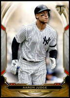 Aaron Judge 2019 Topps Triple Threads 5x7 Gold #62 /10 Yankees
