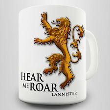Lannister Gift Mug - House Lannister symbol inspired by the Game of Thrones
