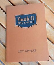 Dunhill Pipe Shape Advertising / Catalogue / for Pipe / RARE
