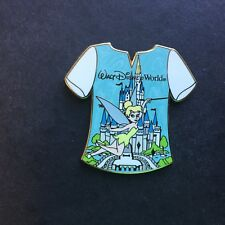 WDW - Gold Card Collection - T-Shirts - Tinker Bell with Castle Disney Pin 67280