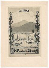 FERDINANDO MALFER: Exlibris für Dr. Bernhard Schneck