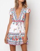 Yasmine Wrap Dress