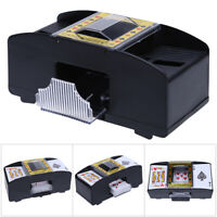 NEW AUTOMATIC PLAYING CARDS SHUFFLER POKER CASINO ONE/TWO DECK CARD SHUFFLE