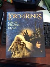 Lord of the Rings Color Change Glass 9.5 Oz Loot Crate New Unused