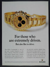 2001 Rolex Cosmograph Watch photo vintage print Ad