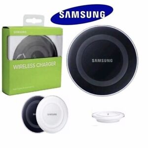 UK Genuine Samsung Apple S20 Note S8 S9 S10 QI Wireless Charger Charging Pad