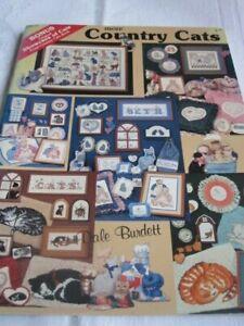 Cross Stitch Book - More Country Cats - Dale Burdett