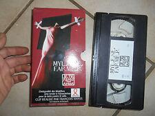 Cassette Vidéo Vintage VHS Clip Mylène Farmer je te rends ton amour