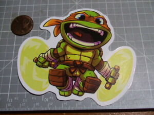 TOON MICHELANGELO Sticker / Decal Skateboard Stickers Actual Pattern NEW GLOSSY