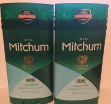 2x Mitchum Men Deodorant Solid Invisible CLEAN CONTROL
