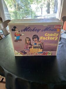 Vintage 1973 Remco Walt Disney Mickey Mouse Candy Factory Complete NEVER OPENED