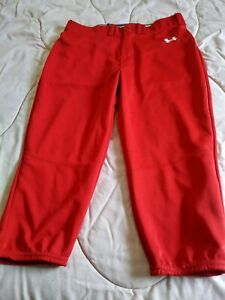 Under Armour Baseball/ Softball Pants Red knickers Size Medium New w/ o Tags