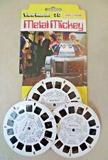 Vintage Viewmaster - Carded VMI 3 Reel Set BD 217 - 1/2/3 - Metal Mickey 1980
