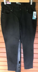 """Old Navy """"the diva"""" womens jeans skinny size 8 black NWT"""