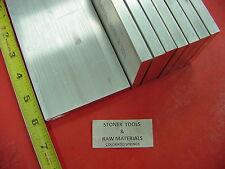 "8 Pieces 3/8"" X 4"" ALUMINUM 6061 FLAT BAR 6"" Long T6511 .375"" Plate Mill Stock"