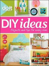 Do It Yourself: DIY Ideas (Better Homes and Gardens) (Better Homes and Gardens H
