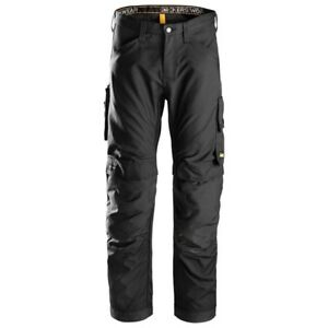 Snickers Allround Work Trousers 6301 Black Size 50 New! Last Pair!