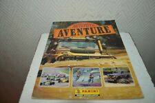 Album Panini Auto Motorcycle Adventure Rally Dakar F1 Trials Indy Trophy Vintage
