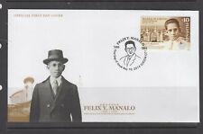 Philippine Stamps 2014 Iglesia Ni Cristo Centennial (Felix Manalo) on FDC
