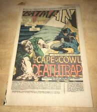 DETECTIVE COMICS #450 COVERLESS BUT COMPLETE GREAT BATMAN STORY !!