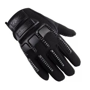 Tactical Mechanic Military Hunting Cycling Biking Safety Full Finger Gloves BLK