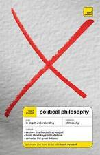 Good, Teach Yourself Political Philosophy, Thompson, Mel, Book
