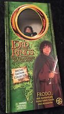 The Lord Of The Rings The Fellowship Of The Ring FRODO Large Action Figure-NRFB