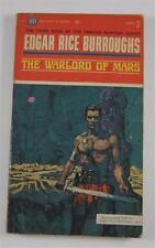 WARLORD OF MARS EDGAR RICE BURROUGHS ERB 1963 BALLANTINE #F711 1ST ED PB MARS #3