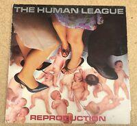 HUMAN LEAGUE Reproduction 1979 UK vinyl  LP EXCELLENT CONDITION