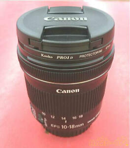Canon Ultra Wide Angle Lens Ef-S10-18Mm F4.5-5.6 Is Stm 0252002237