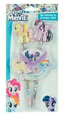 My Little Pony The Movie 3D Pencil And Eraser Set Purple * New *