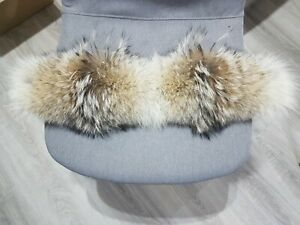 COYOTE FUR TRIM FOR CANADA GOOSE JACKETS