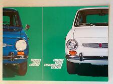 Prospekt Fiat / Seat 850 / 850 Special von Steyr, ca. 1973, 8 Seiten, folder