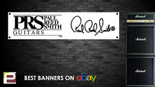 PRS Guitars Banner, for Rehearsal Room, Studio, Garage, Shop, Paul Reed Smith